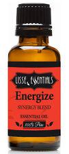 Lisse Essentials Energize Essential Oil, 100% Pure Therapeutic Grade 30 ml