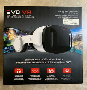 Evo VR Virtual Reality Headset for Smartphones