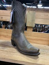 New Men's 13 D Lucchese Pearl Goat