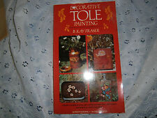 """Book Decorative Tole Painting -B Kay Fraser-1978 13th print crafts 6 1/2"""" X 11"""""""