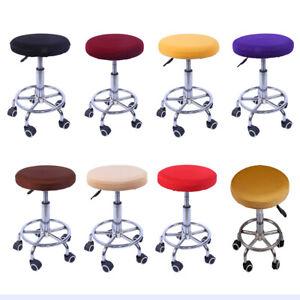 Elastischer Barhockerbezug Soft Round Barhocker Stuhl Sitzbezug für Pub