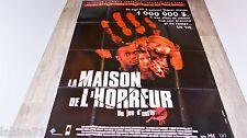 LA MAISON DE L' HORREUR   ! affiche cinema