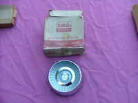 1959 Ford steering wheel horn button, NOS! B9A-3627-A