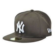 New Era New York Yankees Mlb Basic 59Fifty Cap Walnut Fitted Hats