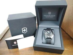 Victorinox Swiss Army Watch 26071.CB Black Rubber Exclusive Ltd Ed 40mm New NIB