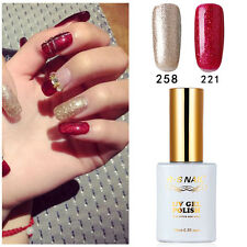 2 PIECES RS 221_258 Gel Nail Polish UV LED Varnish Soak Off 0.5fl.oze New Stock