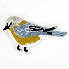 Blue Bird Embroidered patch Sew or Iron on cloth badge applique P33