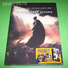 EL CABALLERO OSCURO LA LEYENDA RENACE DVD NUEVO PRECINTADO INCLUYE COMIC 64 PAG