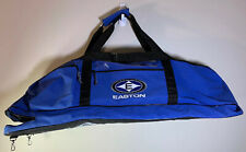 Easton Tote Bag Baseball Softball Bat Blue Zippered Strap Canvas Athletic