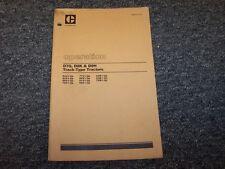 CAT Caterpillar D7G D8K D9H Track Type Crawler Tractor Owner Operator Manual