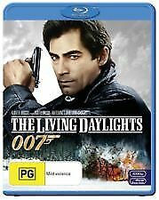 THE LIVING DAYLIGHTS BLU RAY-NEW & SEALED TIMOTHY DALTON,JAMES BOND 007 FREEPOST