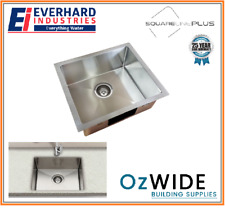 Everhard Squareline Kitchen Sink Under Mount or Drop In Stainless Steel Laundry