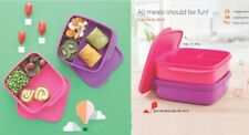 New Tupperware Fun Meal Lunch Box ( Set of 2 )