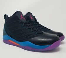 NIB MENS NIKE AIR JORDAN VELOCITY BLACK PURPLE SOUTH BEACH BASKETBALL SHOE Sz 12