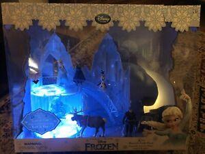 Frozen -  Disney Elsa Musical Ice Castle Playset