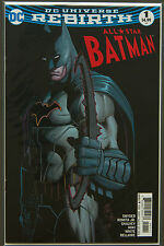 ALL-STAR BATMAN #1 (2016 Rebirth) --- FIRST Printing - DC US - Bagged Boarded