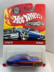 Hot Wheels 40th Anniversary Modern Classics '70 Nova
