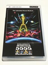 Interstella 5555 UMD Music PSP Daft Punk Rare European FREE SHIPPING WORLDWIDE!
