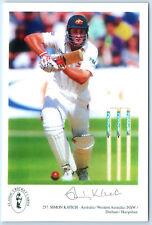 Simon Katich Australia / NSW / Hampshire Signed Classic Cricket Card No. 257