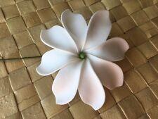 """3"""" TAHITIAN GARDENIA Tiare 8 Petal FLOWER Hair PICK"""
