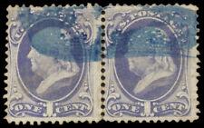 #134A F-VF, 1¢