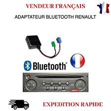 ADAPTATEUR BLUETOOTH AUXILIAIRE RENAULT AUTORADIO UDAPTE LIST SCENIC 2
