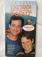Father and Scout (VHS 1994)Bob Saget PROMO SCREENER COPY OOP RARE NEW SEALED HTF