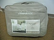 Tempur Pedic Luxury Down Comforter Full / Queen 650 Fill 300 Thread Count White