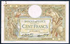 FRANCE - 100 FRANCS L.O MERSON Fay n° 24.9 du 11=9=1930.CL en TTB G.26639 688