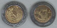 """Mexiko / Mexico 5 Pesos 2010 """"Unabhängigkeit: José Maria Morelos Y Pavón"""" unz."""