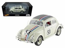 HOT WHEELS 1:18 FOUNDATION THE LOVE BUG - HERBIE Volkswagen Beetle Diecast Car