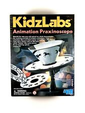 Brand New, Factory Sealed 4M Kidzlabs Animation Praxinoscope Toy Optical Science