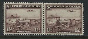 Southwest Africa 1937 1 1/2d pair mint o.g.