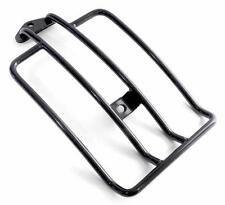 Luggage Rack Black - For Softail 2006 Up 200 Series Rear Wheel