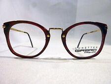 Vintage Girard 4340 Gold Marble Burg 50 Combo Eyeglass Frame New/Old Stock