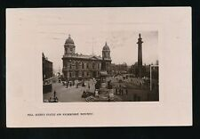 Yorkshire Yorks HULL Queen's Statue Wilberforce Monument 1908 RP PPC