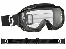 MASCHERA MASCHERINA MX CROSS SCOTT MX GOGGLE HUSTLE NERO BLACK ANTIFOG