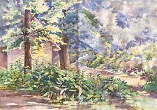 Paris parc saint-cloud dans le goût de Charles CAMOIN (1879-1965) Fauvisme 1905