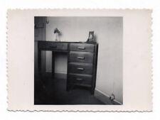 PHOTO Intérieur Appartement Maison Bureau Nature morte Vers 1940 1950 Tiroir