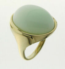 SCHMUCKJAGD RING GR. 18 (56) 375/- GOLD MIT  MENTA OPAL - SOGNI D´ORO