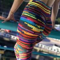 Women High Waist Yoga Pants Gym Leggings Fitness Sports Workout Trousers Printed