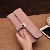 Fashion Women Leather Clutch Wallet Long Card Holder Case Purse Bag Handbag Hot