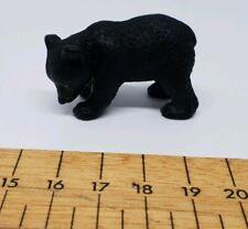 Schleich Black Bear cub plastic figure toy animal rare retired