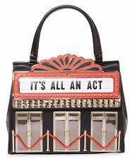 Kate Spade New York DRESS THE PART 3D THEATER BAG PURSE SATCHEL ITS ALL AN ACT