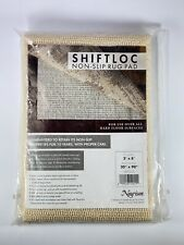 """New Nourison 2' x 8' Shiftloc Ivory Rug Pad Actual Size 20"""" x 90"""" C20"""