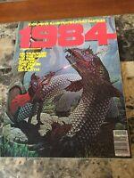 Vintage 1984 Illustrated Adult Fantasy Magazine Sci-Fi Number 3 September 1978
