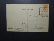 Netherlands 1926 Postcard / HELDER AMSTERDAM Cancel (I) - Z12595