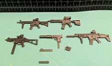 Marauder Gun Runners WEAPONS MODULAR PARTS LOT works w/ GI Joe Classified 1:12