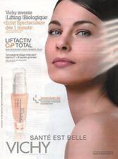 Publicité Advertising 2010 VICHY la santé est belle liftactiv CXP total