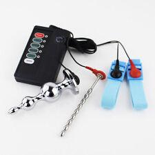 Electro Sex E-Stim Steel Urethral Dilator Electro Shock Plug Therapy Device